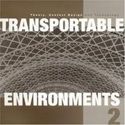 Cover of: Transportable Environments Book 2