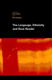 Cover of: The Language, Ethnicity and Race Reader