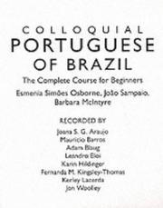 Cover of: Colloquial Portuguese of Brazil (Cassette): The Complete Course for Beginners (Colloquial Series (CD))
