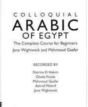 Cover of: Colloquial Arabic of Egypt