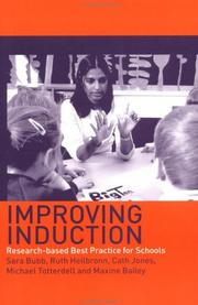 Cover of: Improving Induction