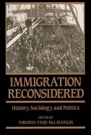 Cover of: Immigration Reconsidered