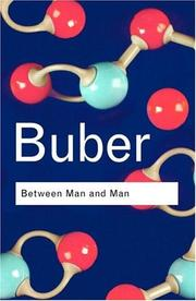 Between man and man by Martin Buber