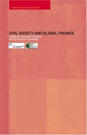 Cover of: Civil Society and Global Finance