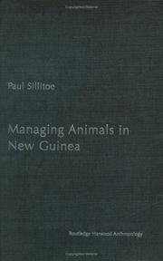 Cover of: Managing animals in New Guinea