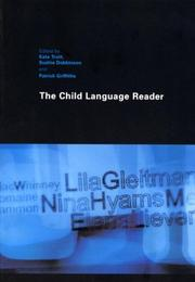 Cover of: The Child Language Reader | Kate Trott