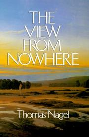 Cover of: The view from nowhere