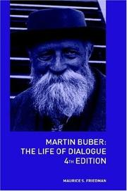 Martin Buber by Maurice S. Friedman