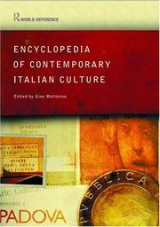 Cover of: Encyclopedia of Contemporary Italian Culture