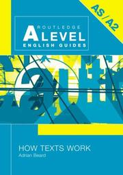 Cover of: How Texts Work