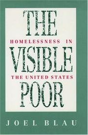 Cover of: The visible poor by Joel Blau