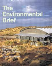 Cover of: The Environmental Brief