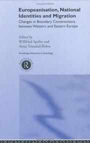 Cover of: Europeanisation, National Identities and Migration