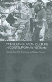 Cover of: Consuming Urban Culture in Contemporary Vietnam