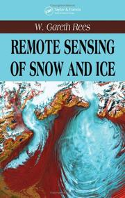 Cover of: Remote Sensing of Snow and Ice