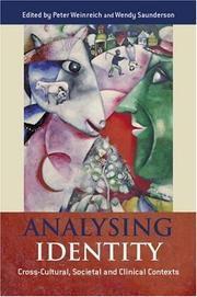 Cover of: Analysing Identity
