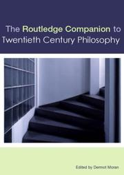 Cover of: The Routledge COmpanion to Twentieth-Century Philosophy
