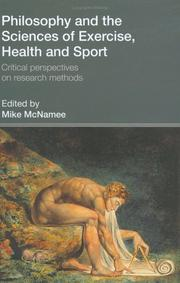 Cover of: Philosophy and the Sciences of Exercise, Health and Sport