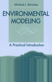 Cover of: Environmental Modeling