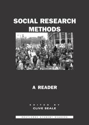 Cover of: Social Research Methods