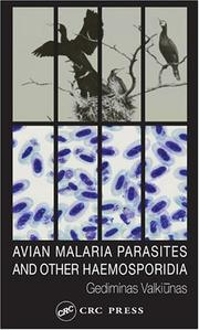 Cover of: Avian Malarial Parasites and Other Haemosporidia