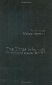 Cover of: The three Edwards | Michael Prestwich
