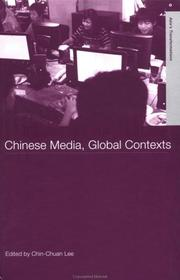 Cover of: Chinese media, global contexts |