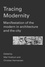 Cover of: Tracing Modernity