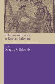 Cover of: Religion and Society in Roman Palestine | D. Edwards