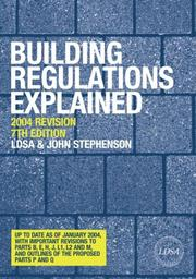 Cover of: Building Regulations Explained