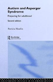 Cover of: Autism | Patricia Howlin