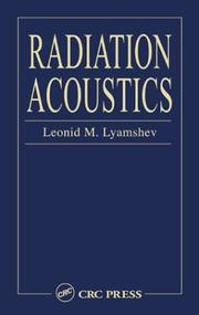 Cover of: Radiation acoustics