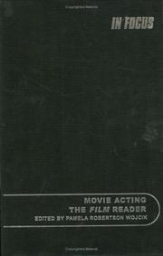 Cover of: Movie Acting, the Film Reader