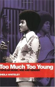 Cover of: Too Much Too Young
