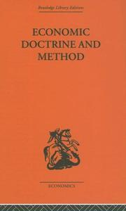 Cover of: Economic Doctrine and Method