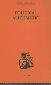 Cover of: Political Arithmetic | L. Hogben