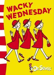 Cover of: Wacky Wednesday (Dr Seuss Green Back Book)