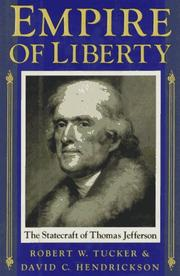 Cover of: Empire of liberty | Robert W. Tucker