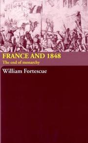 Cover of: France and 1848