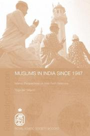 Cover of: Muslims in India since 1947