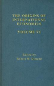 Cover of: Primary Sources of the Modern Heckscher-Ohlin-Samuelson Factor-Proportions Theory, and Developments in 1930s