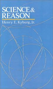 Cover of: Science & reason | Henry Ely Kyburg