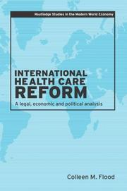 Cover of: International Health Care Reform
