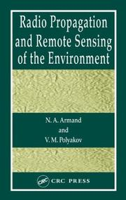 Cover of: Radio Wave Propagation and Remote Sensing of the Environment | N.A. Armand