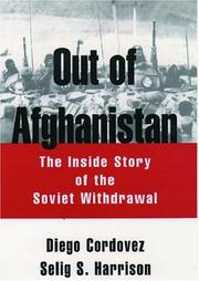 Cover of: Out of Afghanistan