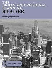 Cover of: The Urban and Regional Planning Reader (Routledge Urban Readersseries) | Eugenie Birch