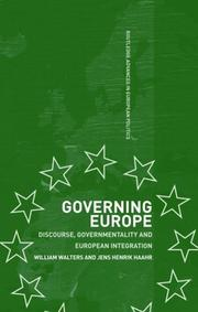 Cover of: Governing Europe
