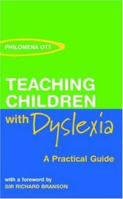 Cover of: Teaching Chidren with Dyslexi