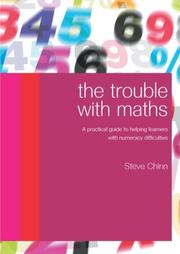 Cover of: The Trouble with Maths