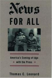 Cover of: News for all
